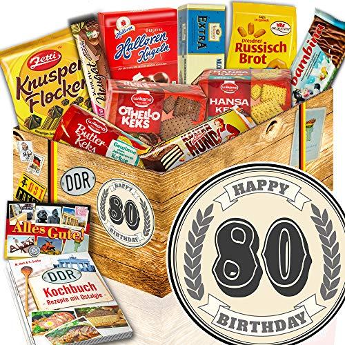 Keks Schachtel / DDR Set / 80 Geburtstag / Geschenke zum 80. Geburtstag