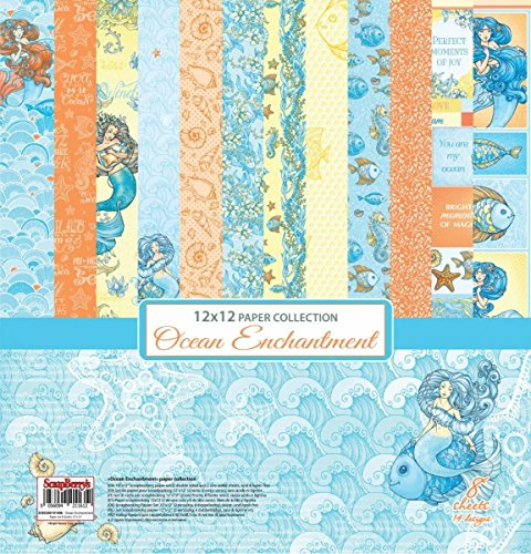 Scrapberry's Paper Stack Papierblock Ocean Enchantment