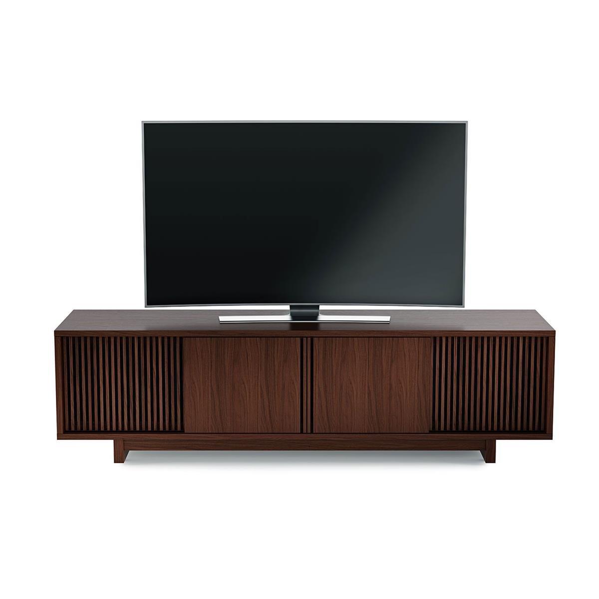 BDI Vertica Chocolate nogal bajo mueble para televisor: Amazon.es: Electrónica