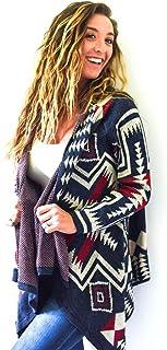 Pearth Authentic Alpaca Wool Handknit Long Sleeve Cardigan - Ultra Soft Premium Quality - Handmade in Ecuador