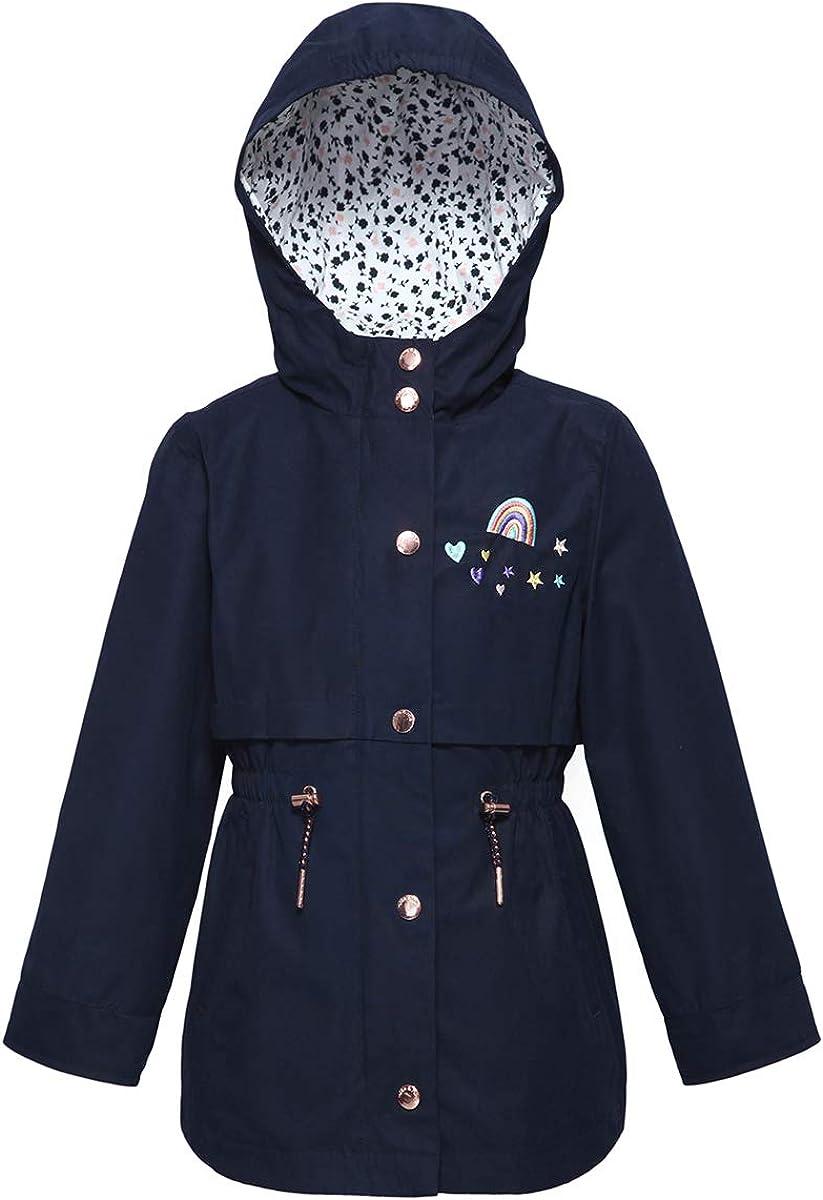 RokkaRolla Girls' Lightweight Hooded Jacket Louisville-Jefferson County Cheap SALE Start Mall Windbreaker Rain Dr
