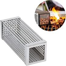 Kaduf Pellet Smoker Tube 6'' 3 Hours of Extra Smoke for Any Grill or Smoker - BBQ, Hot & Cold Smoking Flavor for Cheese, Fish, Pork, Ribs with Wood Pellets - Free eBook Smoking Recipes - Square