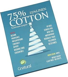 Best 75 cotton 25 linen paper Reviews