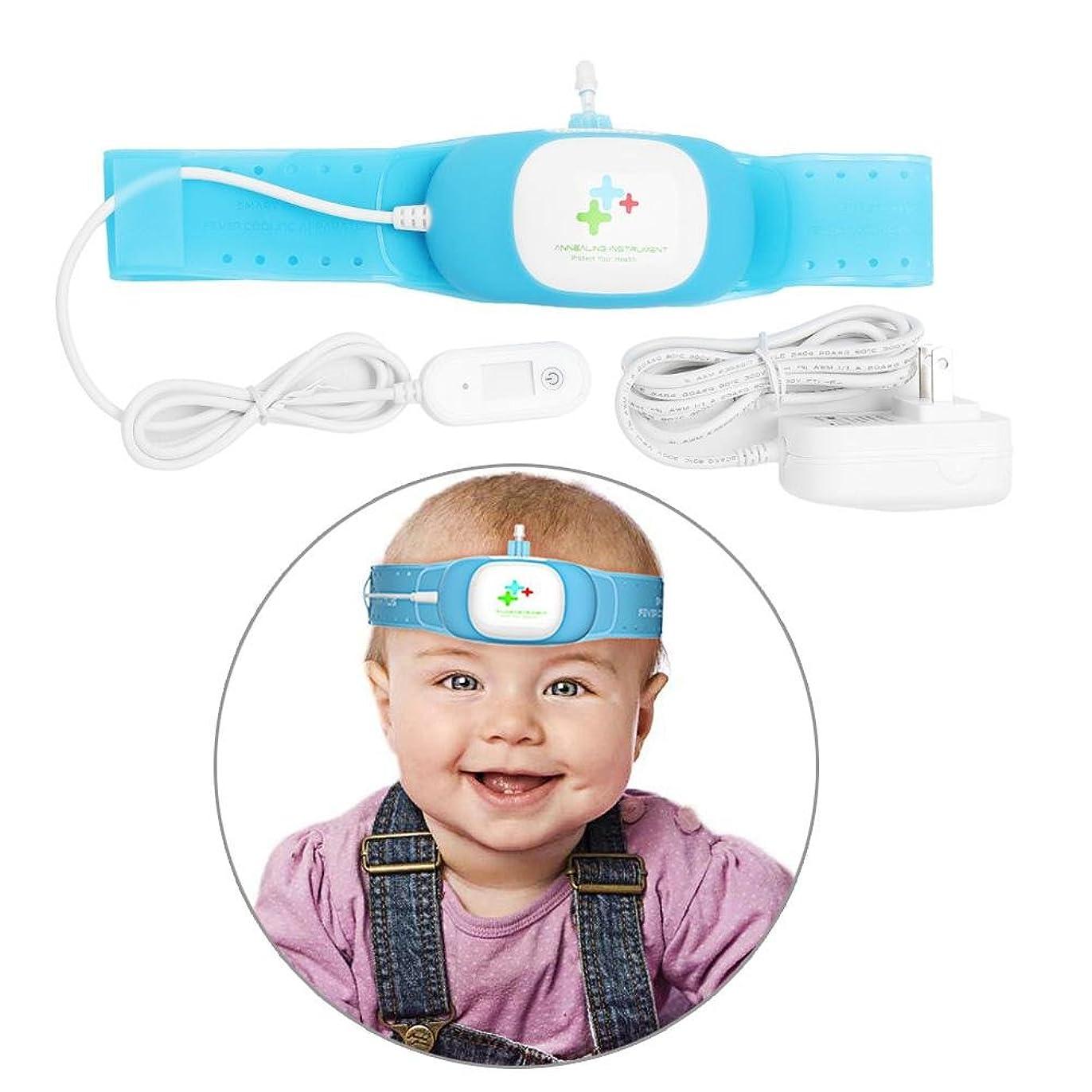 欺町コンサート物理的な熱の冷却装置、大人および子供のためのFDAの証明の頭脳の目のリフレッシュメント頭痛救済パッドが付いているスマートな涼しいパック