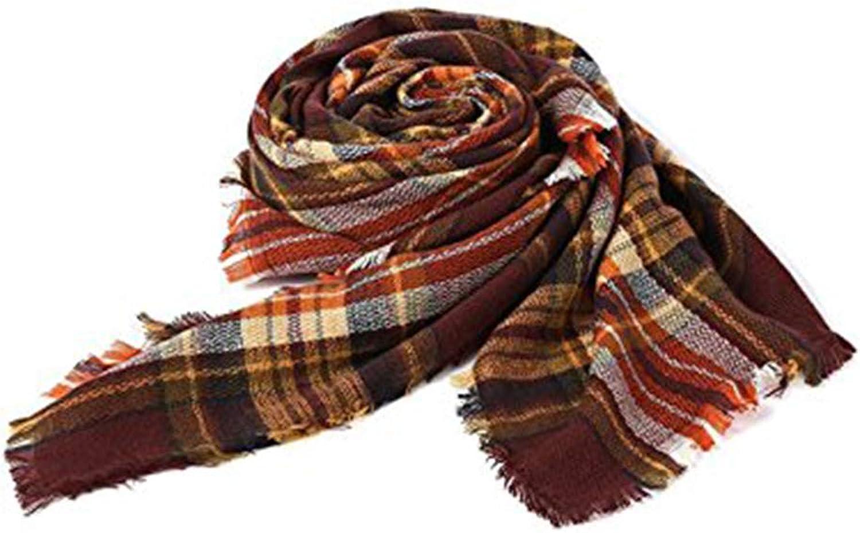 d21fe53f77536 Zando Scottish Plaid Blanket Scarf Women Large Tartan Shawl Soft Thick Wrap  Scarves Throw Winter Shawl Cape Cape Plaid nxydkq5435-New Clothing