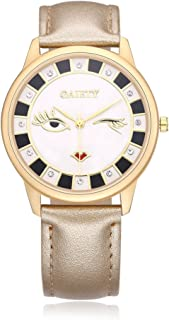 NAIVO Women's Quartz Watch with Gold Plated Stainless Steel Strap, (Model: 1)