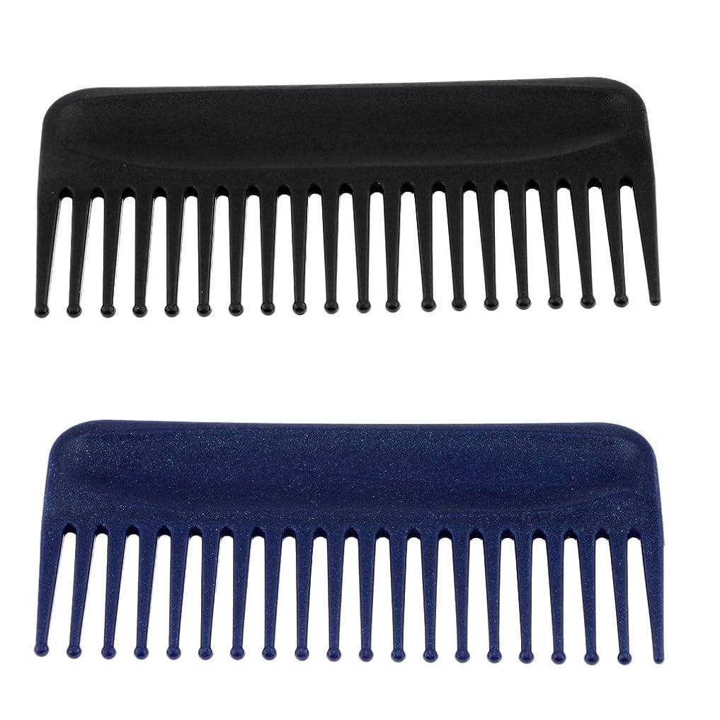 サンダーバージンバーマドBaosity ヘアコーム くし 櫛 ヘアブラシ  頭皮マッサージ 静電気防止 美髪ケア 快適 プラスチック製 2個