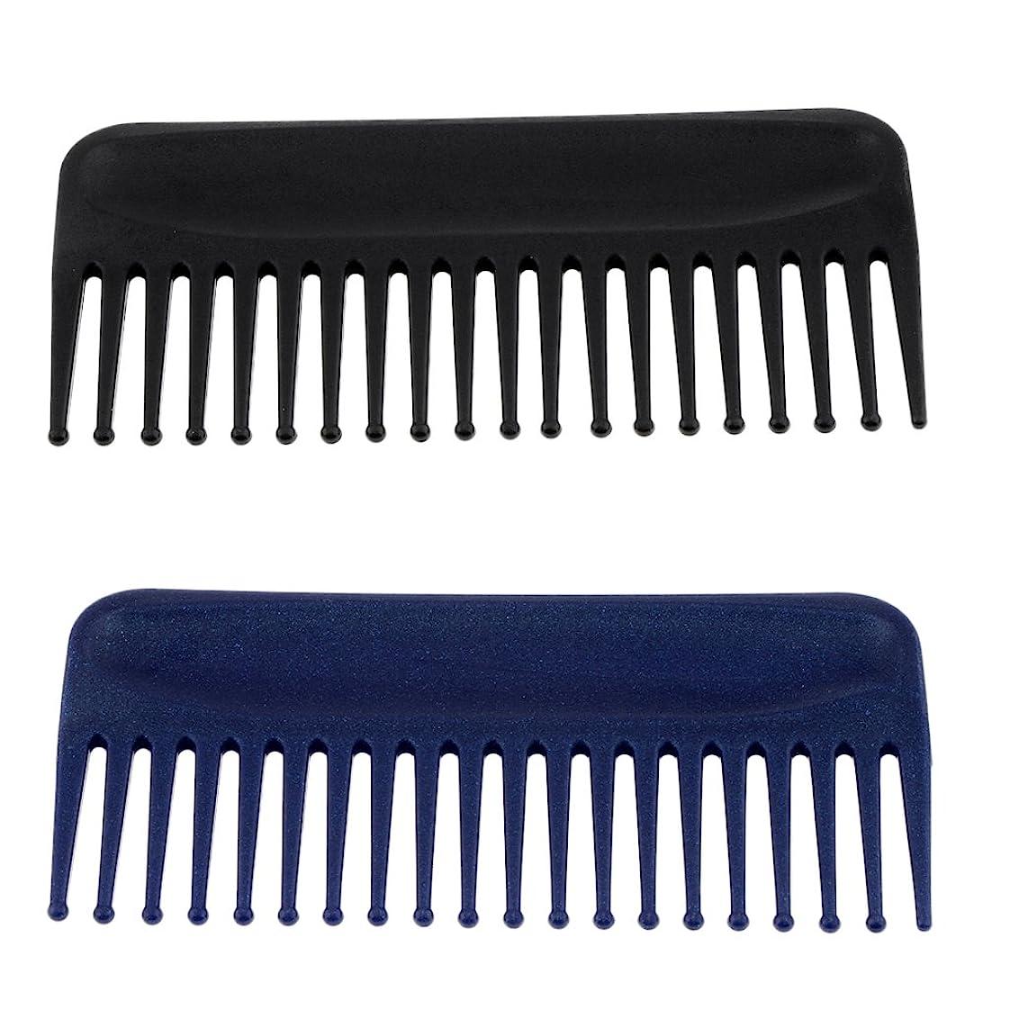 普及全滅させる費やすBaosity ヘアコーム くし 櫛 ヘアブラシ  頭皮マッサージ 静電気防止 美髪ケア 快適 プラスチック製 2個