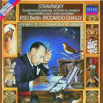 Stravinsky: Symphony of Psalms etc.