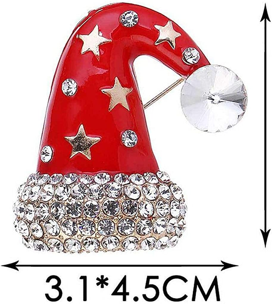 DGQY Christmas Holiday Brooch Pin for Women Ladies Girls Jewellery