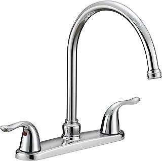 "EZ-FLO 10189 Two-Handle Kitchen Faucet without Spray, 12"" x 2.5"" x 10.5"", Chrome"