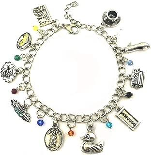 Blingsoul Friends Charm Bracelet - TV Show Bracelets Jewelry Merchandise Gifts for Women
