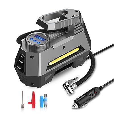 JOYROOM Portable Air Compressor Tire Inflator -...