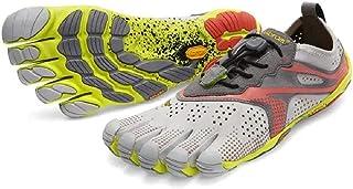 Vibram Grey-Yellow Oyster Women's V-Run Shoes - EUR 39