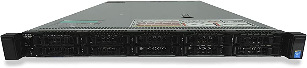 High-End Dell PowerEdge R630 10 Bay 1U Server, 2x Xeon E5-2699 V3 2.3GHz 18 Core, 384GB DDR4 RAM, PERC H330, 10x 960GB SATA 6Gbps 2.5 SSDs, 2x 750W PSUs, Rails, 1 Year Warranty (Renewed)