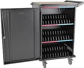 Tripp Lite 36-Port AC Charging Cart Storage Station for Chromebooks, Laptops, Tablets, Black (CSC36AC)