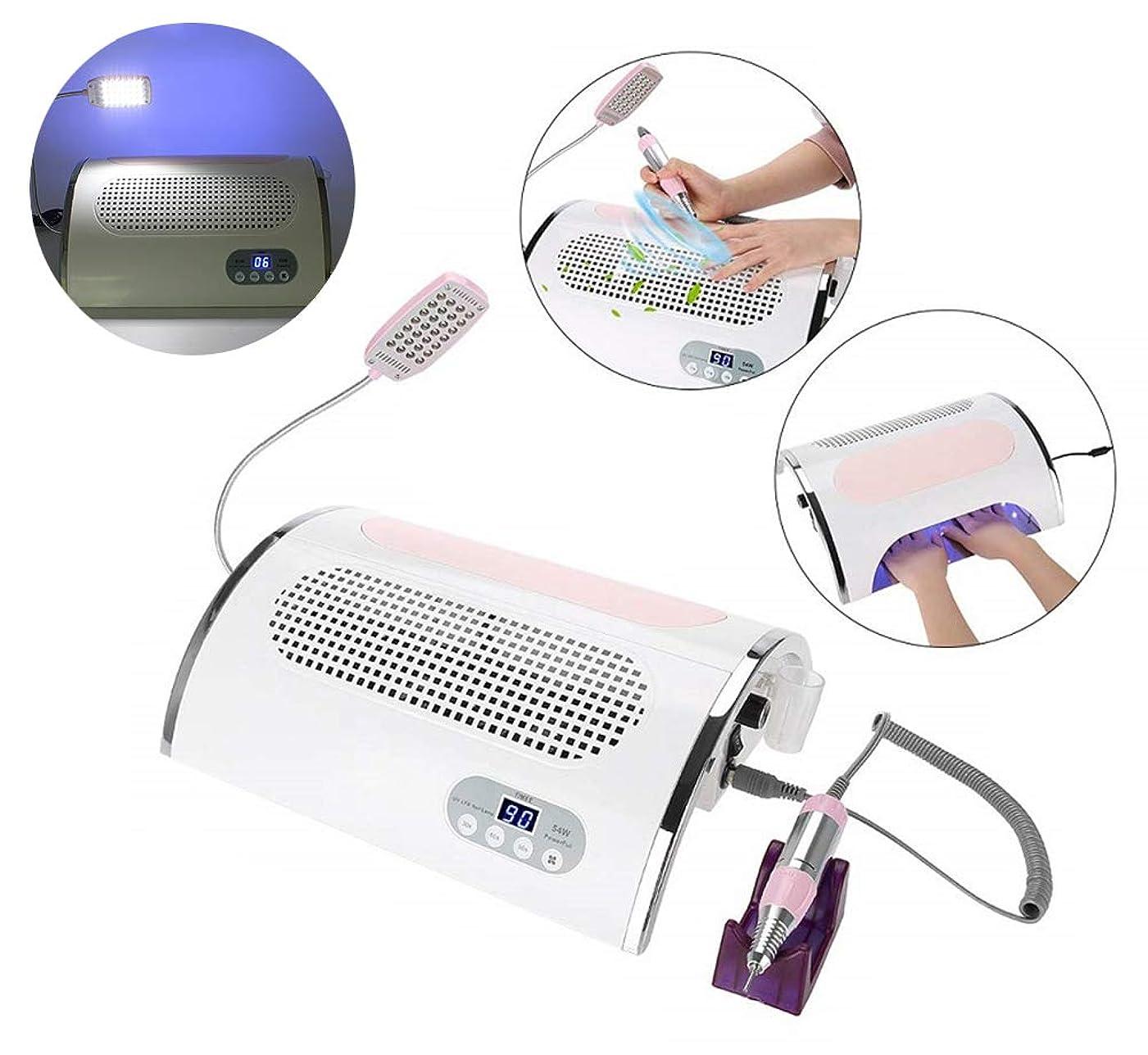 白雪姫自発的調停者4つ1つの多機能の電気釘のドリル機械、アクリルのゲルの釘のための照る充満ポーランド人の芸術用具を集める紫外線LEDの釘のドライヤーランプのゲル