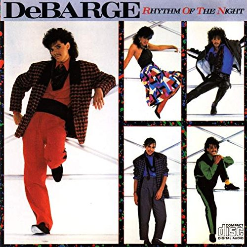 DeBarge - Rhythm Of The Night - Motown - WD72653