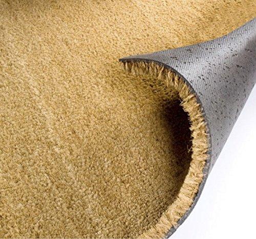 Felpudo de Coco Natural AL Corte Grosor 20 mm Ancho 2mts selecciona el Largo Que Necesitas. Compra mínima 2Mts2 (Ancho 2 x Largo 1mt) Disponible en grosores de 17, 20 y 23mm