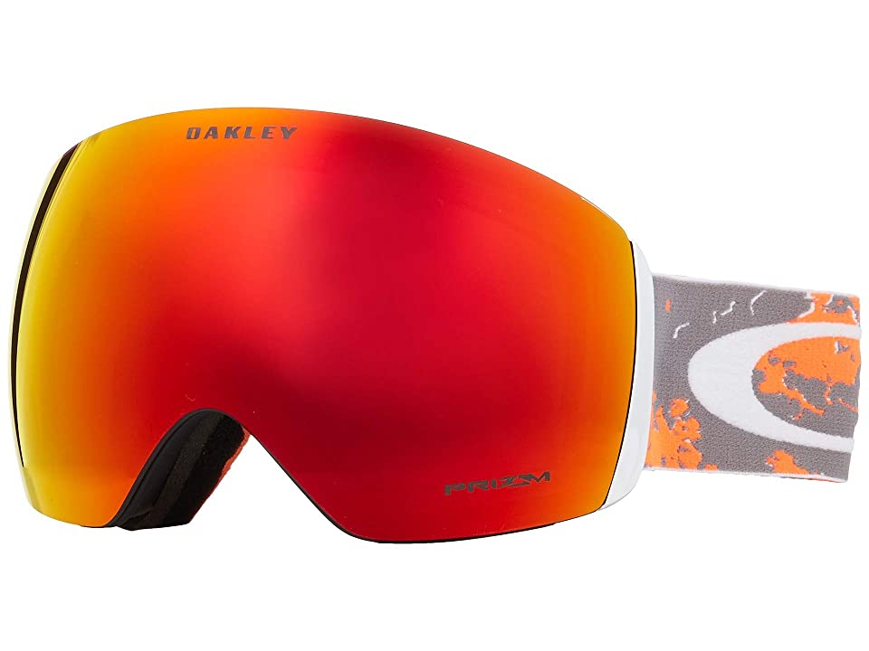 Oakley Flight Deck (Arctic Fracture Orange w/ Prizm Torch Iridium) Snow Goggles