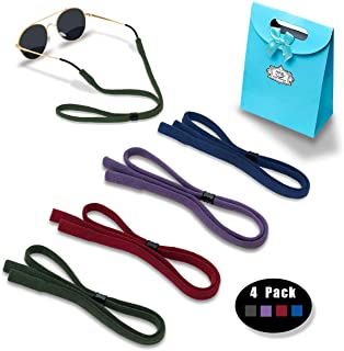 Sports Sunglasses Strap for Men Women - Glasses Retainer Cord Chains Lanyards