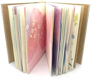 Siixu Colorful Blank Notebook, Unlined Journals to Write in for Women and Girls, Hardcover Personal Diary, Unique Pretty W...