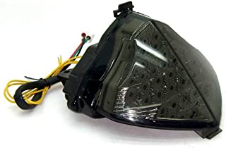 MZS Tail Light LED Integrated Turn Signal Blinker for Yamaha YZF R1 YZF-R1 RN12 2004 2005 2006 (Smoke)