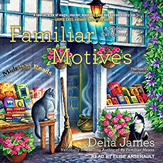 Familiar Motives audiobook cover art