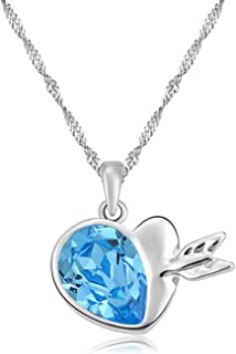 New Item Upscale Austrian Crystal Necklace Wild Cupid Love Necklace