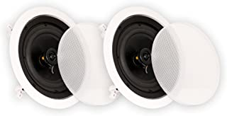 "Theater Solutions CS6C In Ceiling 6.5"" Speakers Surround Sound Home Theater Pair"