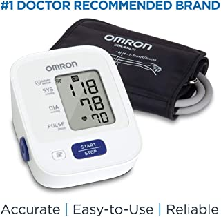 Omron Bronze Blood Pressure Monitor, Upper Arm Cuff, Digital Blood Pressure Machine,..