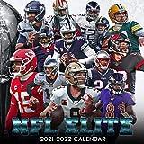 NFL ELITE 2021-2022 Calendar: 18 Months 8.5x8.5inch