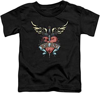 Bon Jovi Heart and Dagger Youth T-shirt