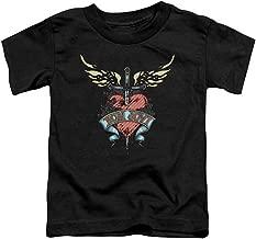 Bon Jovi Heart and Dagger Toddler T-Shirt (2T)