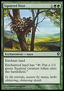 Magic The Gathering - Squirrel Nest - Conspiracy
