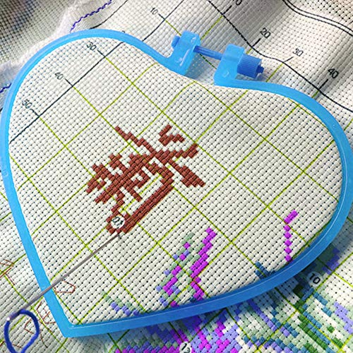 SpareTimes『ハート型刺繍枠』