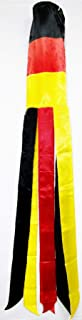 German Country Windsock Beautiful Shiny Polyester Material 5 Feet Long 5.5