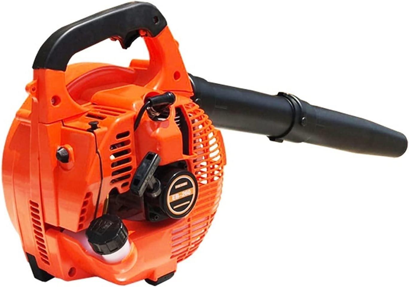 MOSHUO Soplador de Hojas, aspiradora de jardín Soplador de Gasolina Motor de Gasolina Succión Arena Nieve Máquina de soplado de Hojas Máquina de Hojas Soplador de Mano para Nieve (Color: Rojo)