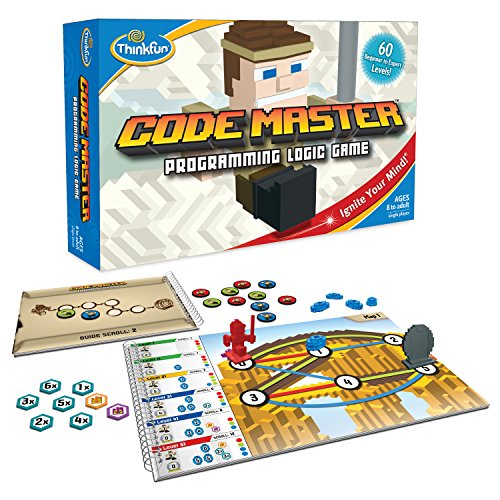 ThinkFun Code Master Programming Logic Game and...