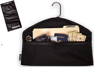 Hanger Diversion Safe by Stash-it   Hidden Pocket Safe   Hides Under Hanging Clothes with Pocket to Hide Valuables for Hom...
