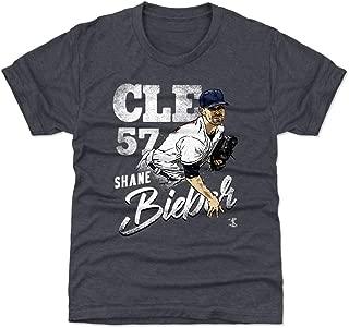 500 LEVEL Shane Bieber Cleveland Baseball Kids Shirt - Shane Bieber Team