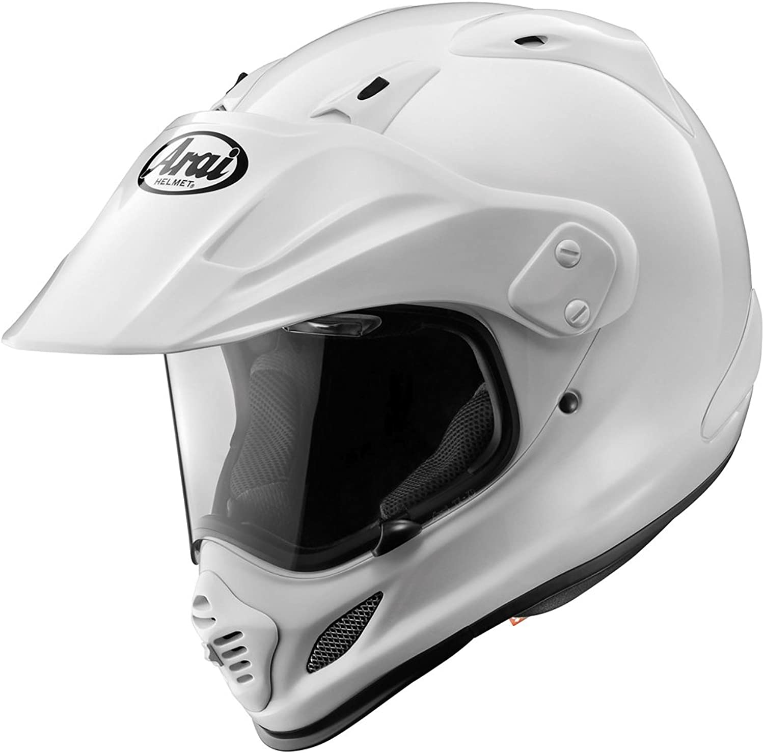2013 Arai XD4 Motorcycle Helmets  White  Medium