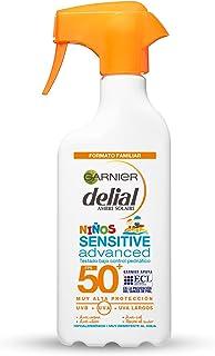 Garnier Protector Solar Spray Niños Delial Resistente al Agua, Arena, Sal y Cloro SPF50+ - 300ml