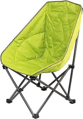 WSSF- Portable De Luxe Lune Paresseux Chaises Longues Chaise Pliante Camping Chaises De Randonnée Intérieur Extérieur Jardin Pique-Nique Pêche-Charge 100kg