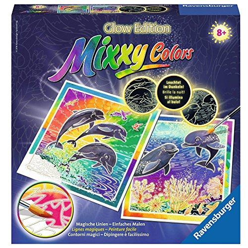 Ravensburger 294350 Mixxy Colors Malen 29435 - Welt der Delfine