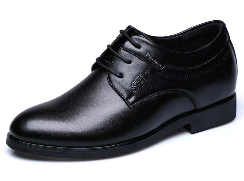 [ミコプエラ] シークレットシューズ メンズ ビジネス 6.5cm 身長アップ メンズシューズ メンズ 靴 カジュアル