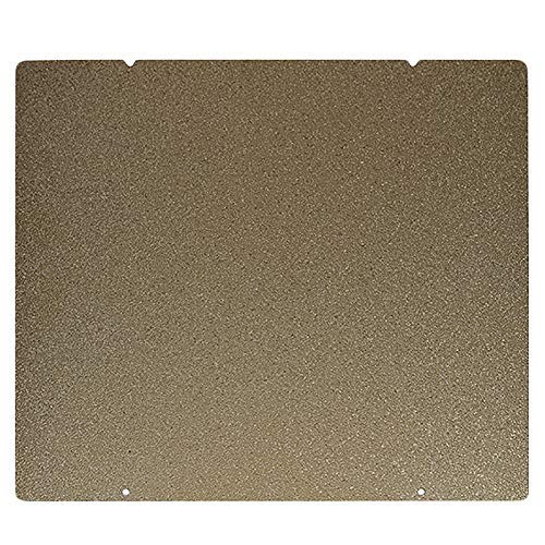 WY-YAN 3D Printer Accessories Double Sided Textured Pei Spring Steel Sheet Powder Coated Pei Build Plate for Prusa I3 Mk2.5S Mk3 Mk3S