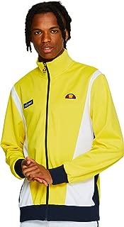 Ellesse Men's Vilas Track Jacket, Yellow