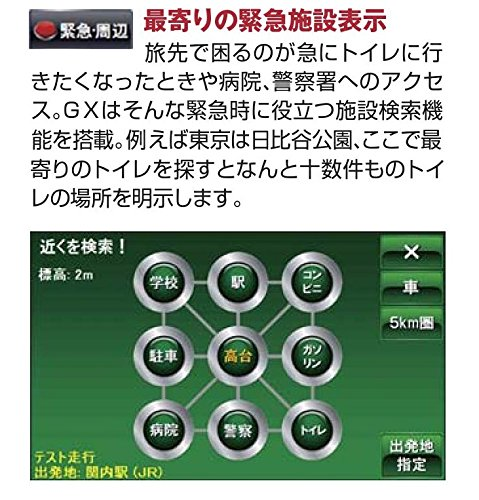 IK-Corporation(アイケイコーポレーション)『アーストレッキングナビGX』