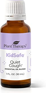 Plant Therapy Quiet Cough KidSafe Essential Oil Blend 30 mL (1 oz) 100% Pure, Undiluted, Therapeutic Grade